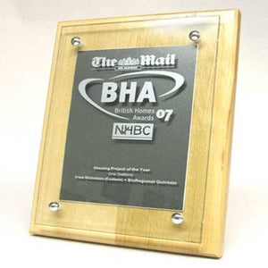 The Mail Plaque Bespoke Wall Plaques Creative Awards