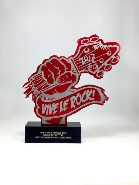 Vive le Rock Awards Bespoke Mixed Media Awards Creative Awards