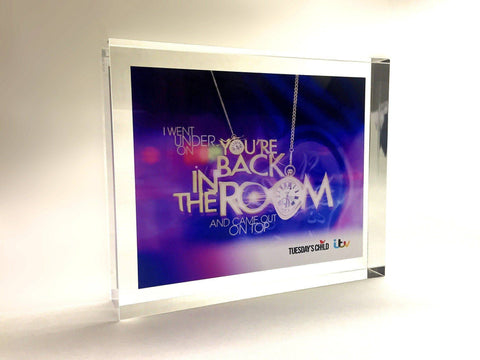 You're Back in the Room Award for ITV