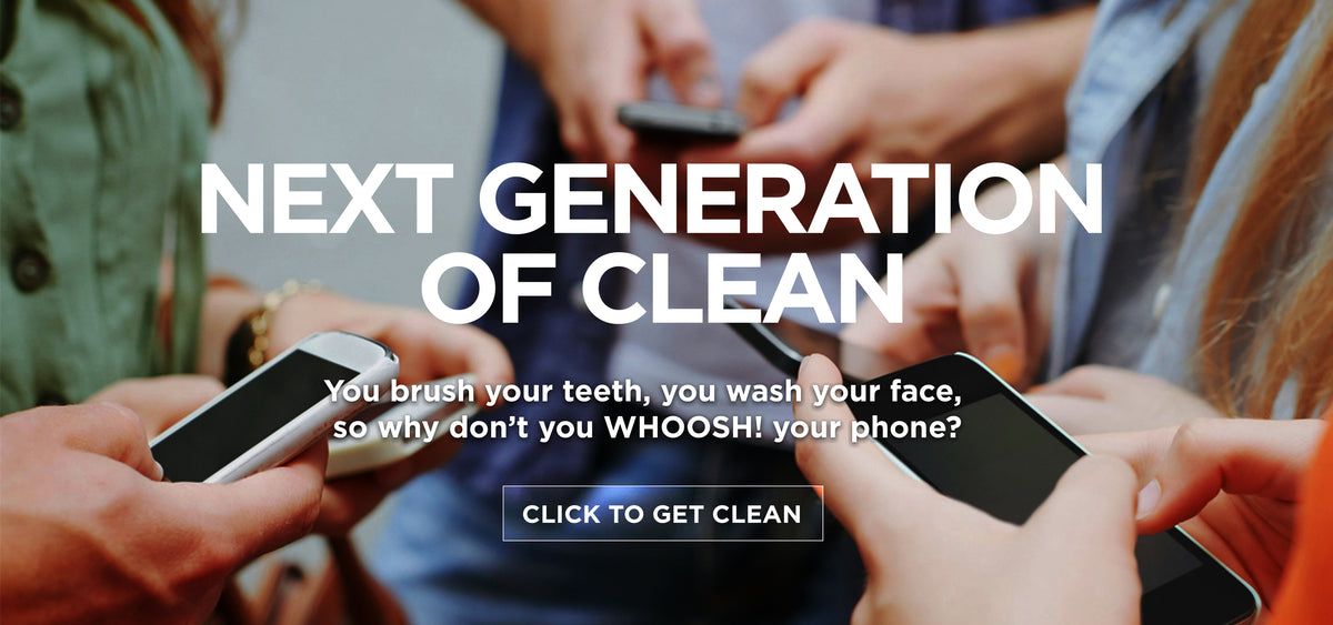 WHOOSH! Screen Shine Next Generation of Clean