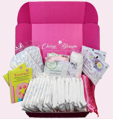 *Moon Time Box (Organic Cotton Pads Only)