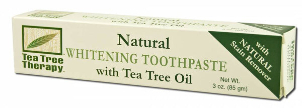 Natural Whitening Toothpaste with Tea Tree Oil - Cherry Blossom Subscription