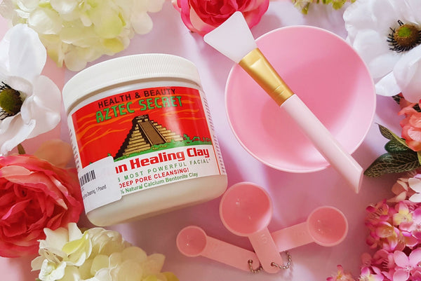 Aztec Indian Bentonite Clay - Cherry Blossom Subscription