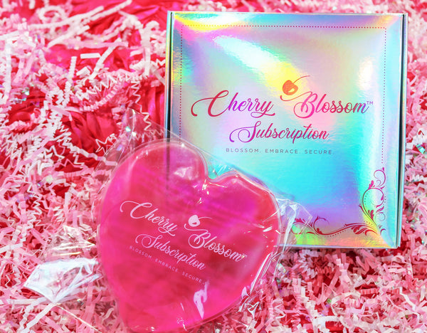 Reusable Cherry Blossom Heating Heart - Cherry Blossom Subscription