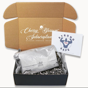 Travel Sanitizer Care Kit For Him - Cherry Blossom Subscription