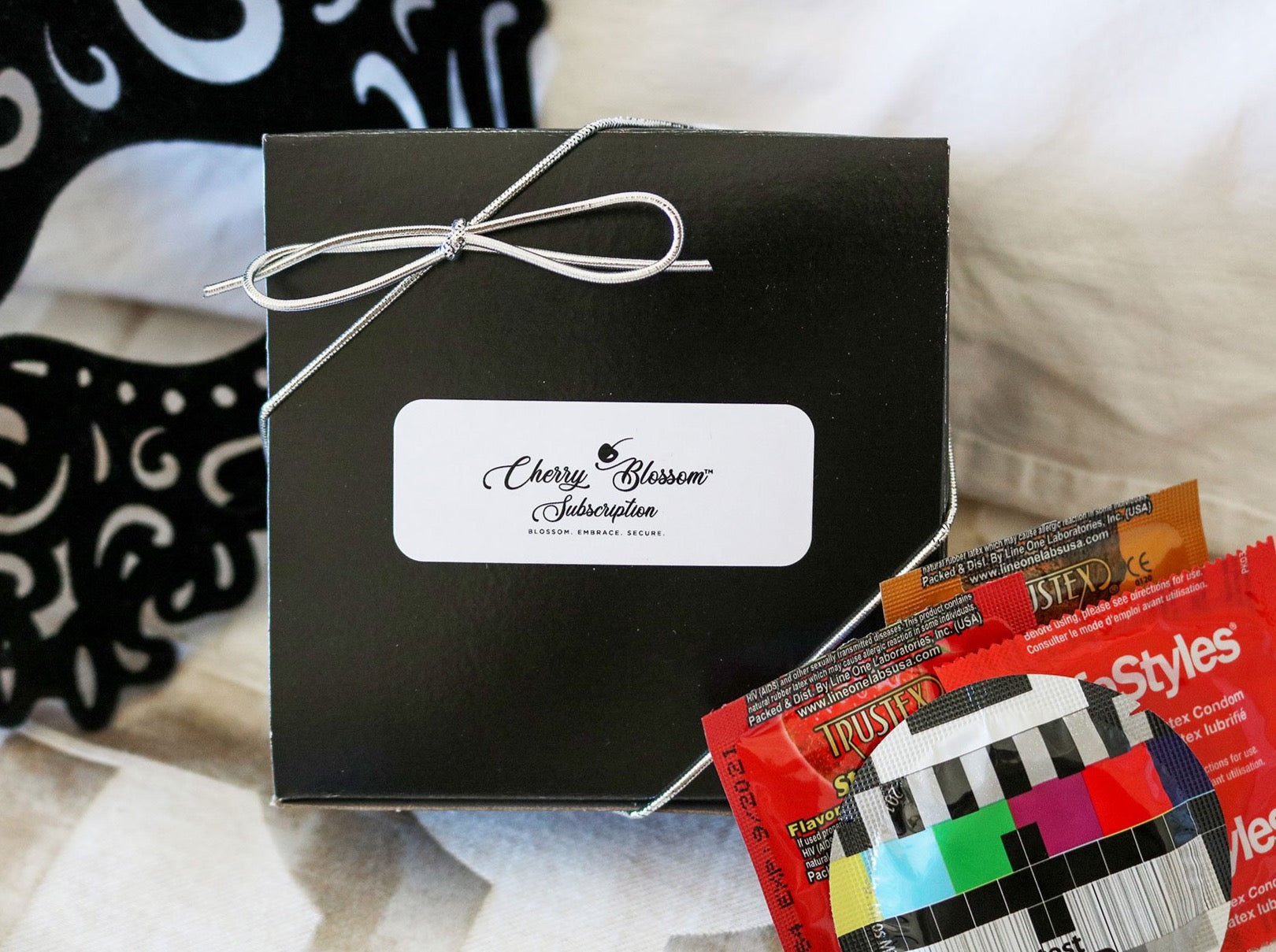 15 CONDOM PLAYTIME MINI BOX (Customize your own) - Cherry Blossom Subscription