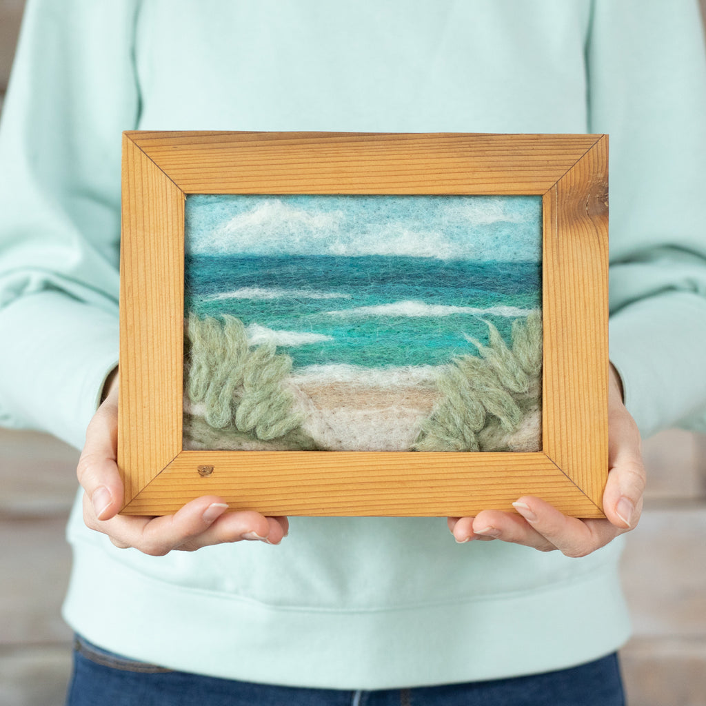 Framed Beach Landscape 1