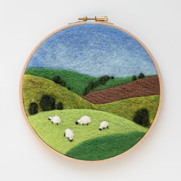 Grazing Sheep Needle Felting Kit