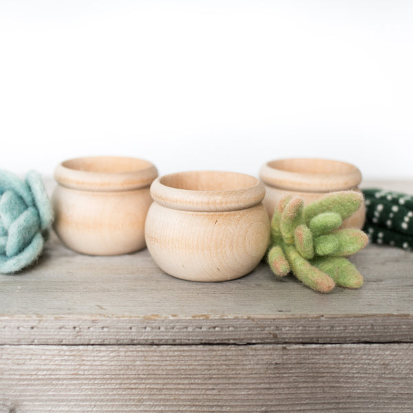 Extra Pots - Set of 3