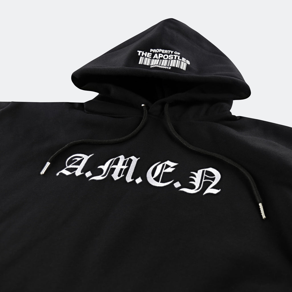 "APOSTLE CLUB - ""AMEN"" Embroidered Hoodie"