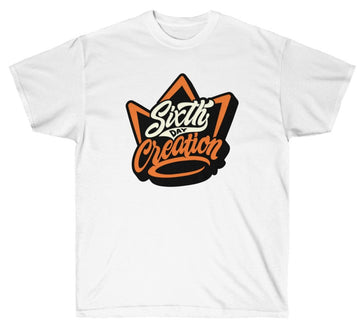 "SIXTH DAY ""CROWNED"" TEE"