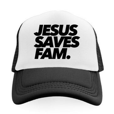 JESUS SAVES FAM