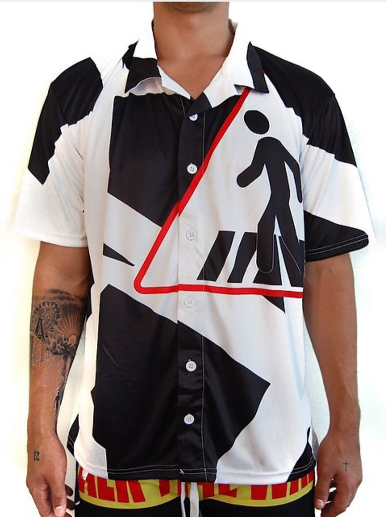 """CROSSWALK"" CAMP SHIRT"