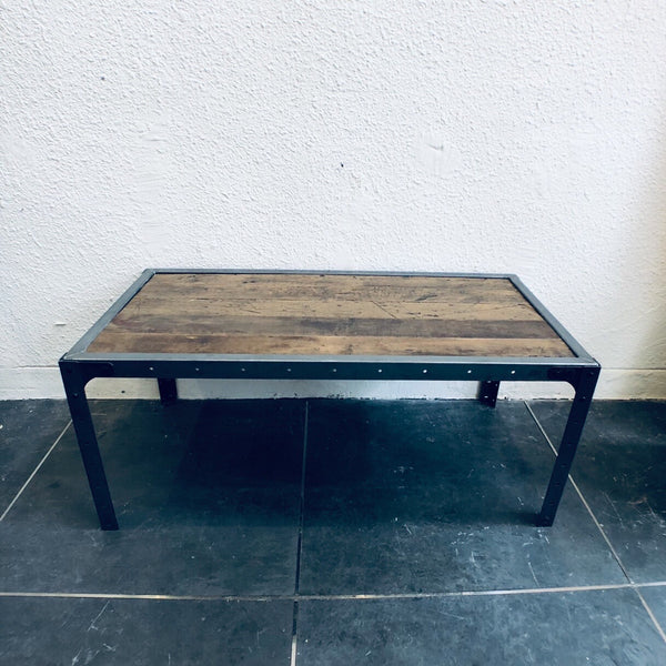 LOW TABLE (VINTAGE 'MAPLE' WOOD )