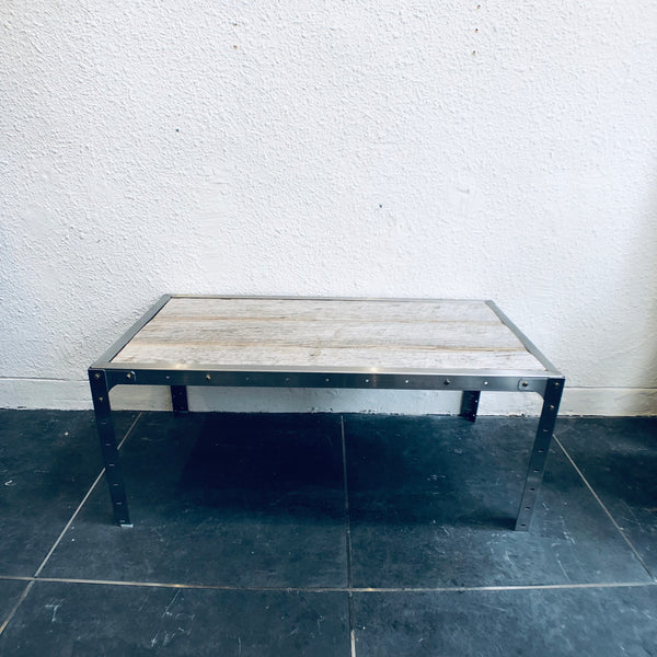 LOW TABLE (VINTAGE 'BURNWOOD' )