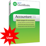 QuickBooks Premier Accountant 2018 - 3 User
