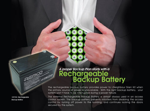 DC12 Rechargeable Battery