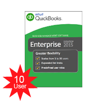 QuickBooks Enterprise Solutions Platinum 2018 -10 users