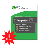 QuickBooks Enterprise Solutions Platinum 2018- 4 users