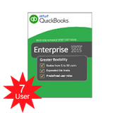 QuickBooks Enterprise Solutions Platinum 2018- 7 users