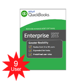 QuickBooks Enterprise Solutions Platinum 2018- 9 users