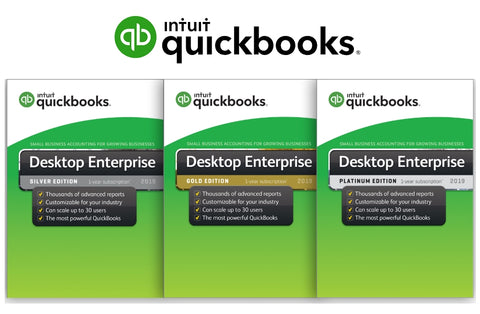 "ECHES CONSULTANCY - ""ORIGINAL QUICKBOOKS ENTERPRISE 2019"""