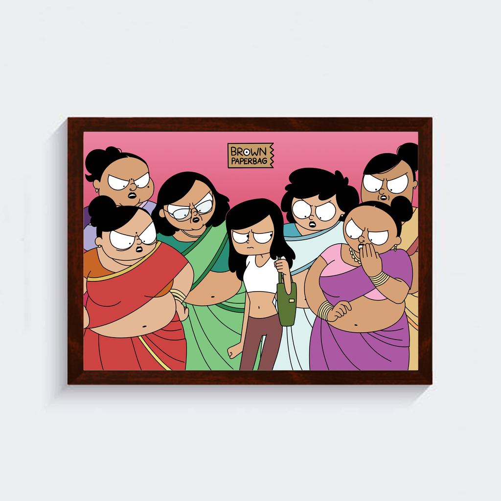 Saree For Your Laws Poster