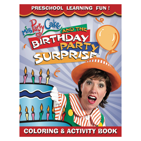 Birthday Party SURPRISE Coloring & Activity Book