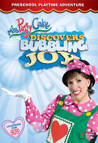 Miss PattyCake Discovers Bubbling Joy (DVD)