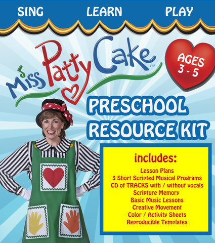 Preschool Resource Kit (Complete Pack)