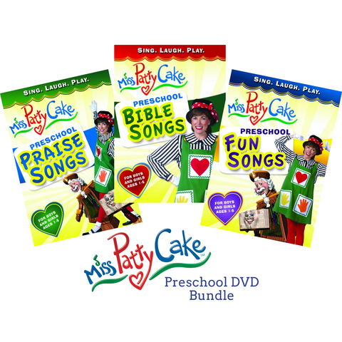 Preschool DVD Bundle