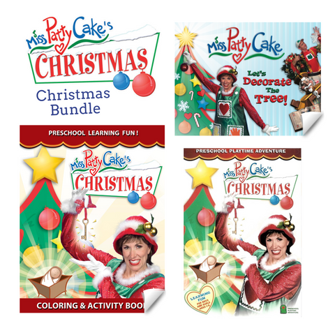 Christmas Bundle (DVD & 2 Books)