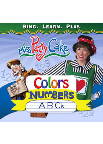 COLORS, NUMBERS AND ABCs (CD)