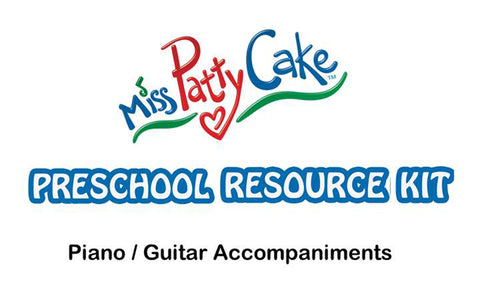 Preschool Resource Kit - Piano/Guitar Sheet Music