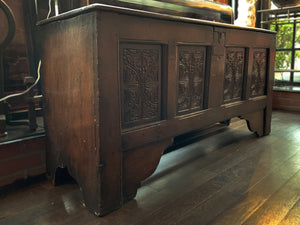 18th Century English Oak Blanket Chest