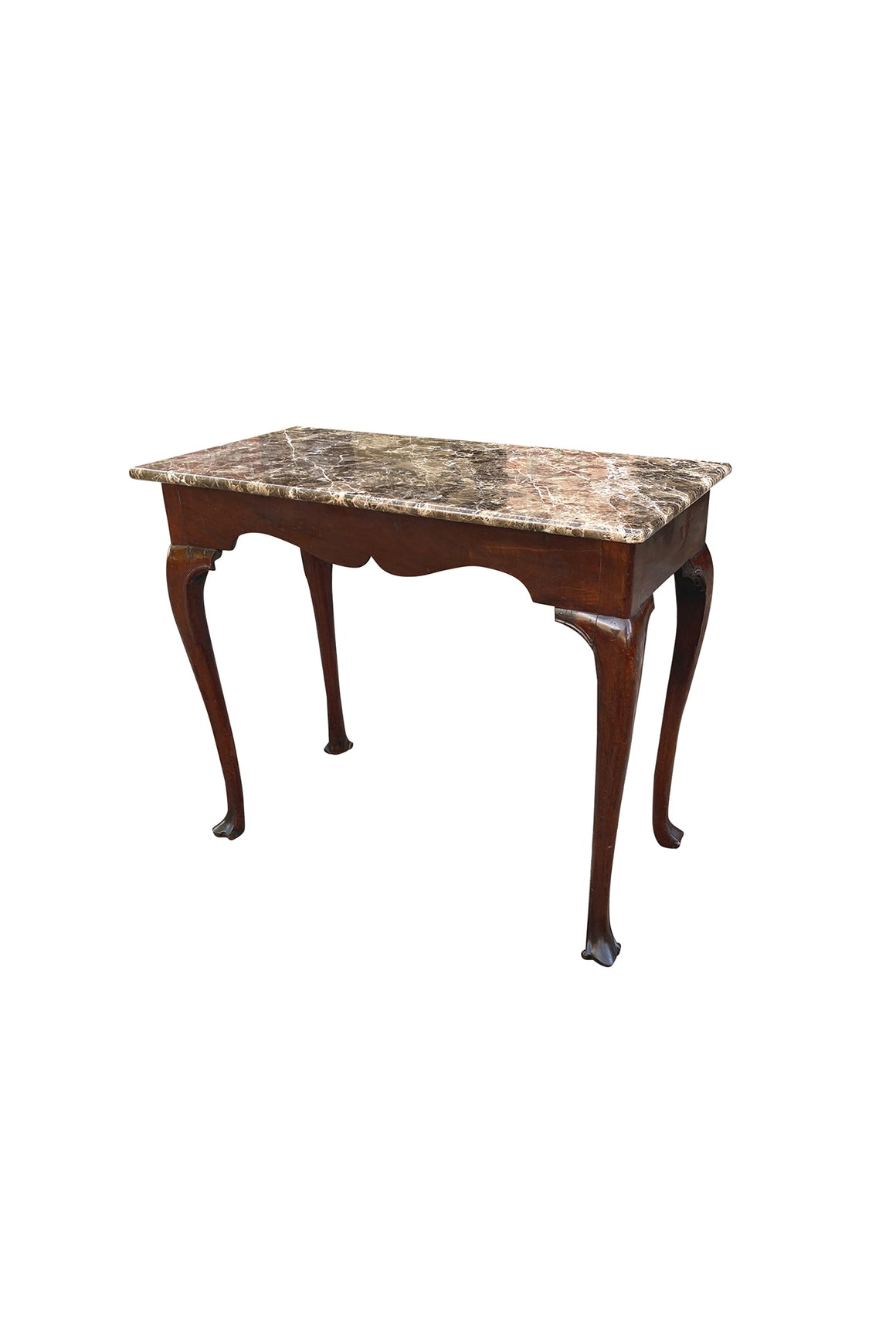 18th Century Irish Marble-Top Console Table