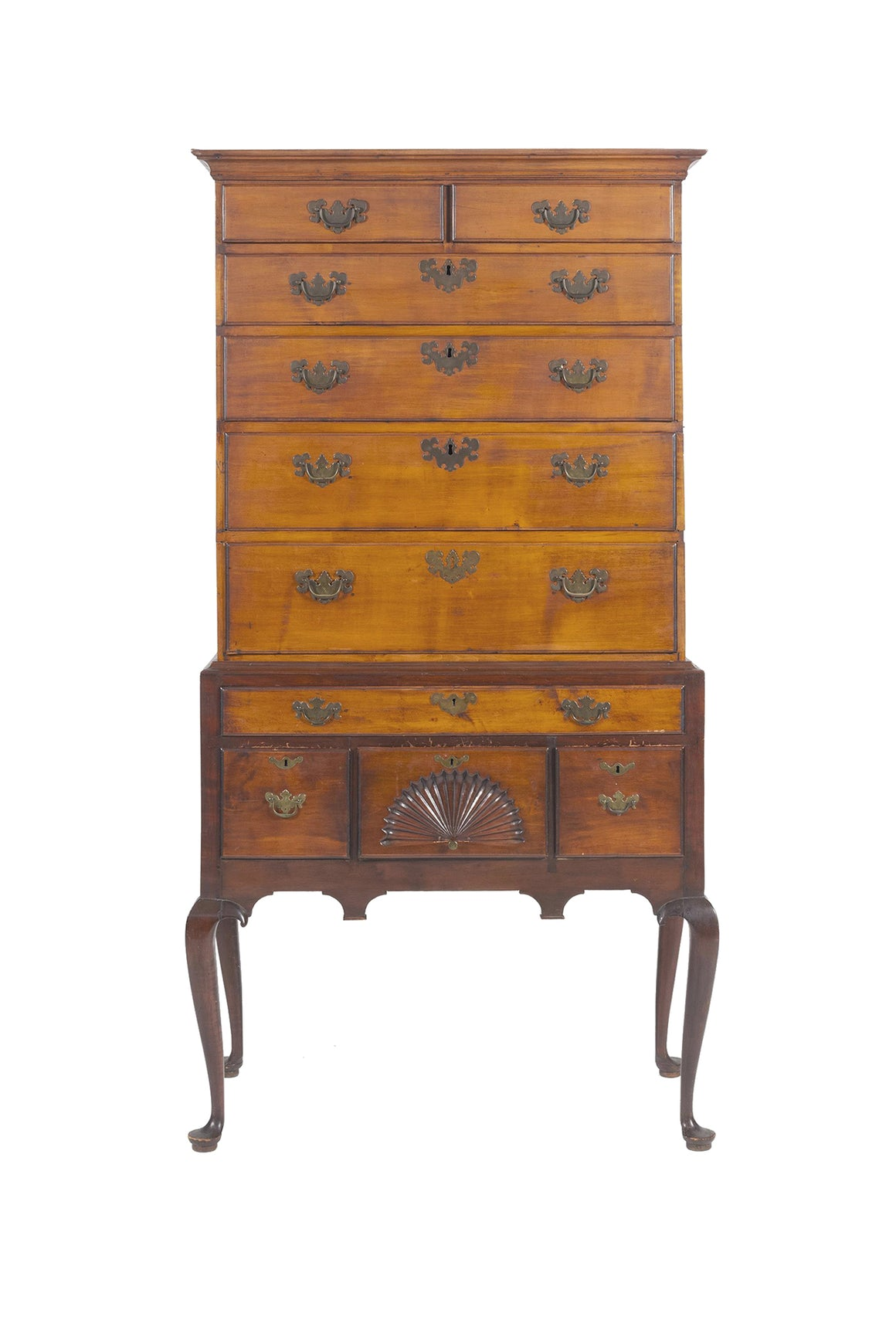 18th Century Connecticut Queen Anne Highboy