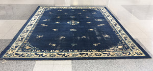 "1920s Chinese Art Deco Rug - 11' 7"" X 8' 8"""
