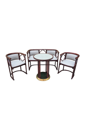 1930s Salon Suite by Josef Hoffmann for J & J Kohn and Mundus - ON SALE