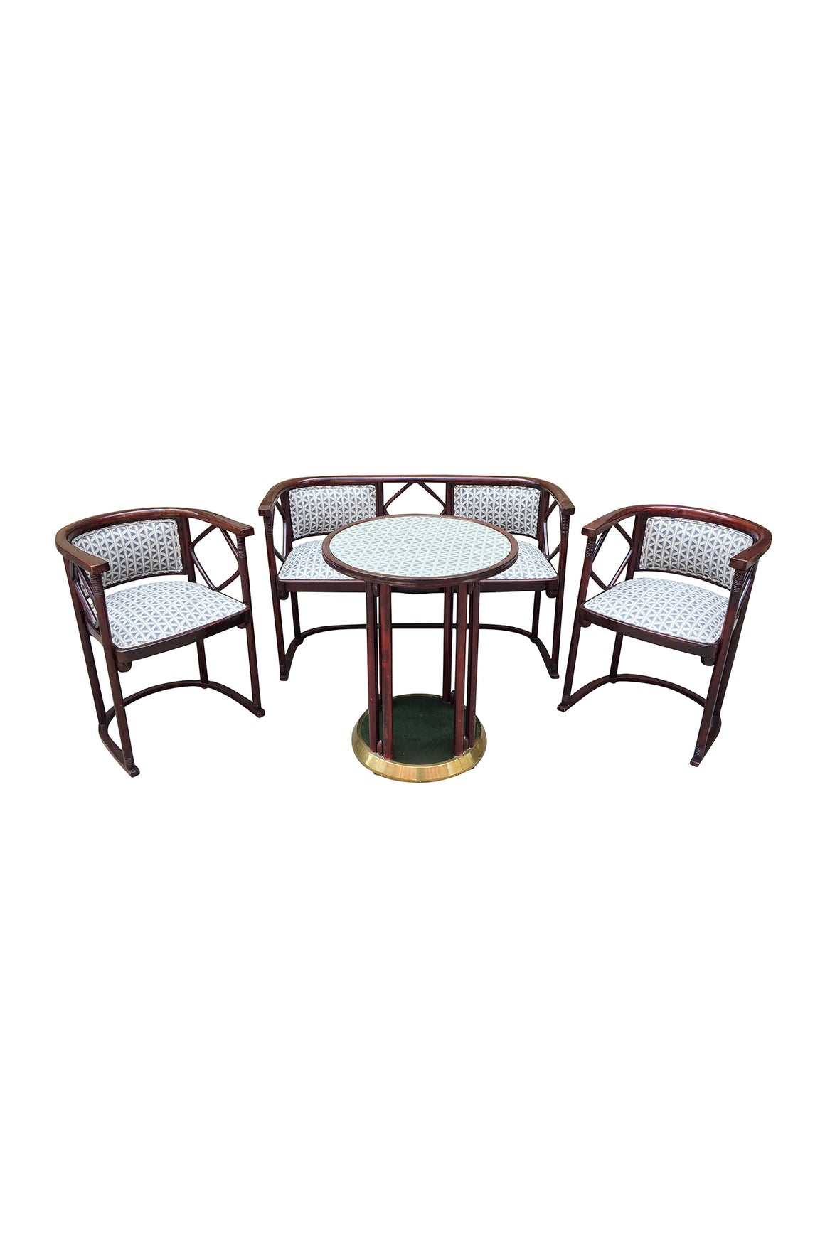 1930s Salon Suite by Josef Hoffmann for J & J Kohn and Mundus