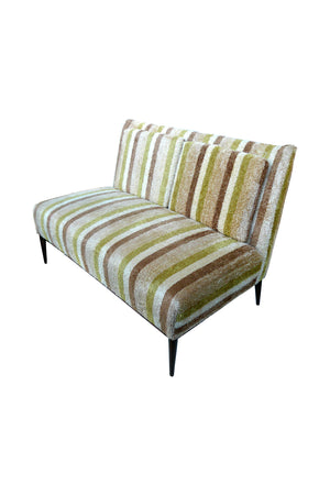 Paul McCobb Striped Settee