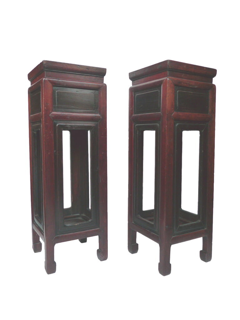 wood golden rectangular factory oak pedestal stands price at