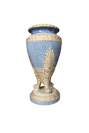 19th Century French Neoclassical-Style Porcelain Urn