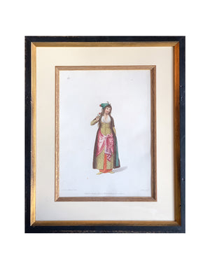 19th C. Hand-Colored Engraved Illustrations by Octaiven Dalvimart - a Set of 7