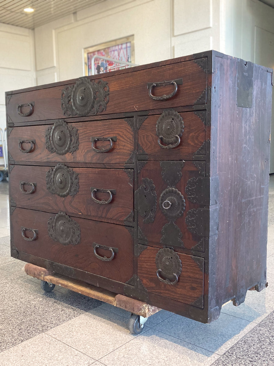 19th Century Tansu Chest of Drawers