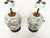 20th Century Chinese Porcelain Table Lamps - a Pair