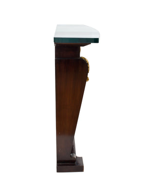 20th Century Art Deco-Style Ebonized Console Table