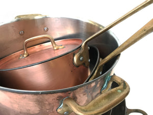20th Century Mixed Set of Copperware - 8 Pieces