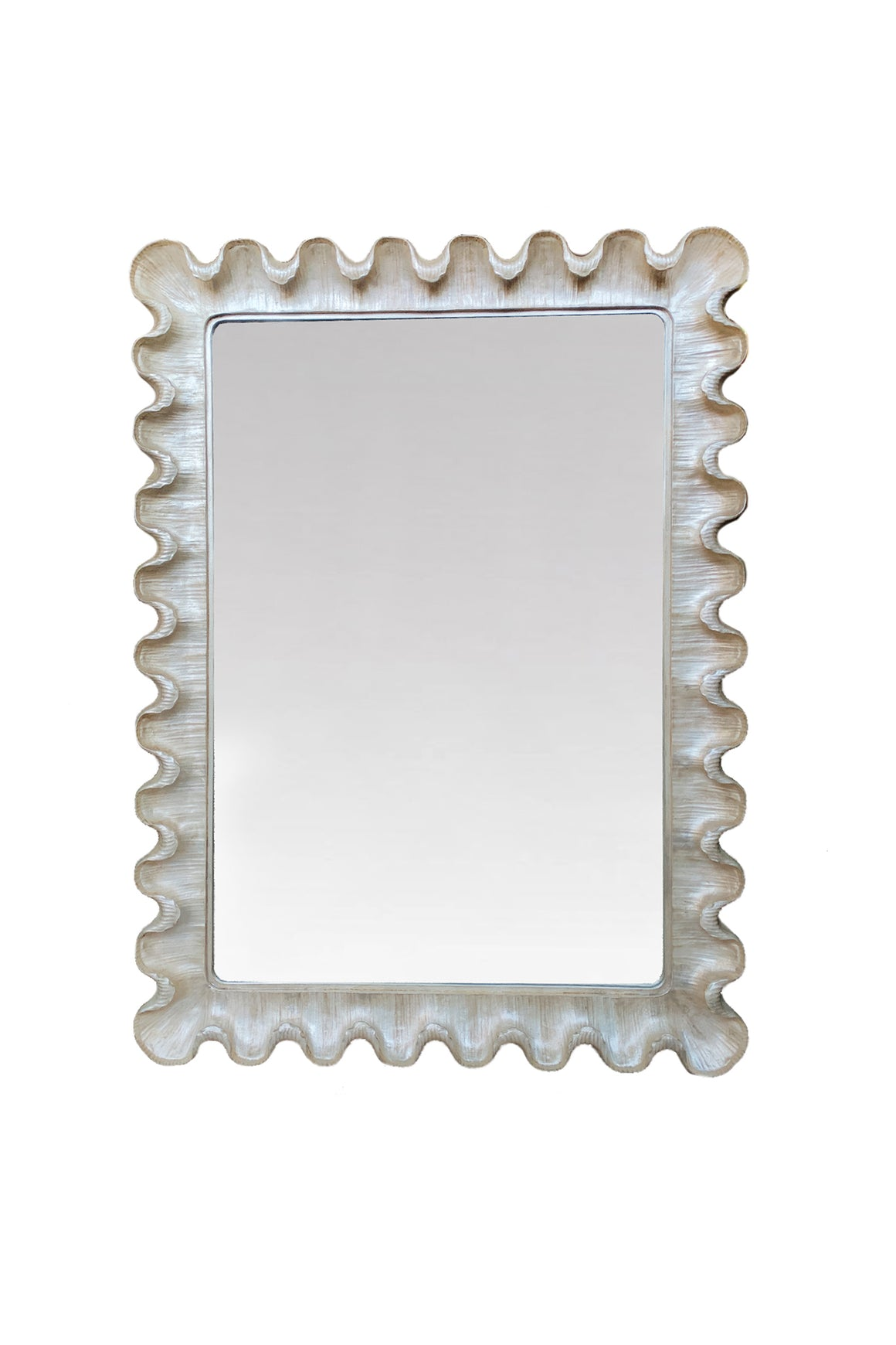 20th Century Hollywood Regency Style Wall Mirror