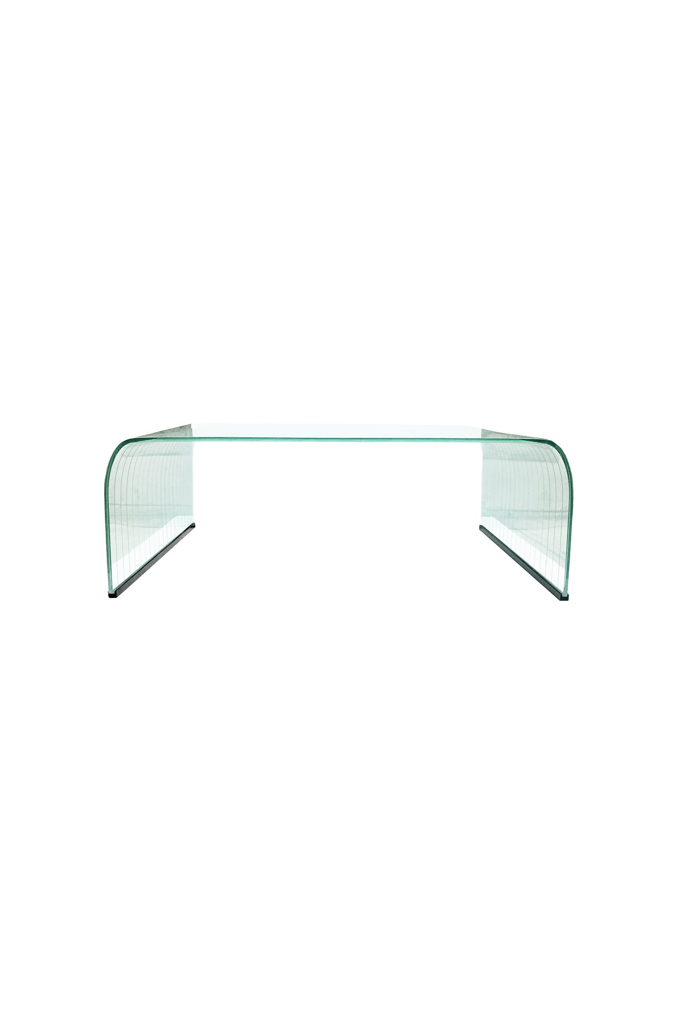Italian Glass Coffee Table.20th Century Italian Glass Coffee Table In The Style Of Angelo Cortesi